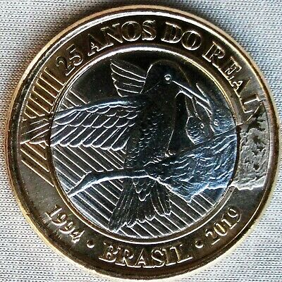 *NEW*BRASILIEN / BRAZIL_1 Real 2019_25 anos do Real / 25 years of Real_lose_unc