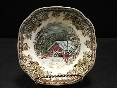 """Johnson Brothers Friendly Village 6"""" Square Cereal Bowl"""
