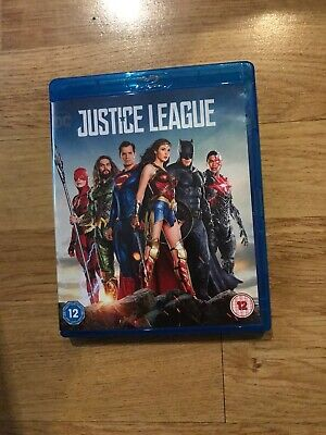 Justice League Blu Ray Watched Once Mint