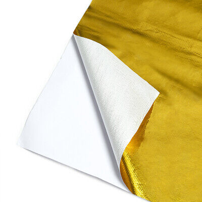 """Mishimoto MMHP-GRB-1224 Gold Reflective Barrier w/ Adhesive, 12"""" x 24"""""""