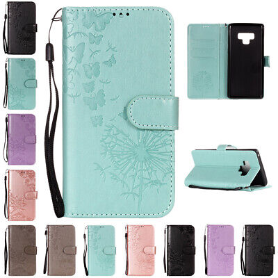 For Samsung A30 A20 A50 A70 S10 5G Case Magnetic Wallet Stand Leather Flip Cover