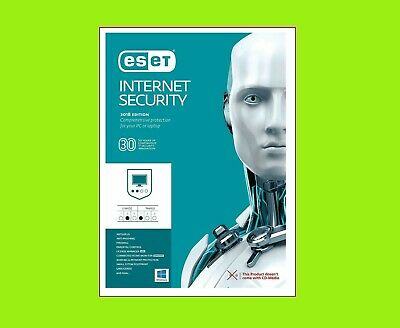 ESET Internet Security 2019 | 3 Devices PC | 1 Year Jahr Download ESD