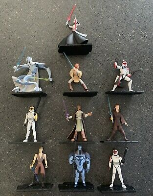 The Clone Wars Animated Series Figures.
