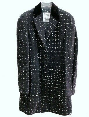 Moschino Cheap and Chic Coat in Cashmere Size 46 25841