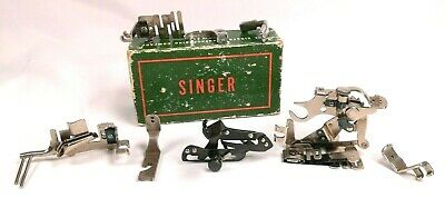 Vintage 1947 Singer Sewing Machine Attachments 121897 With Original Box