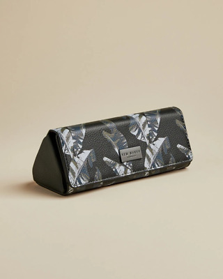 Ted's World Printed Folding Sunglasses Case