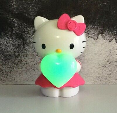 Hello Kitty Light Up Colour Changing Portable Speaker Blue Box 003141