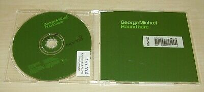 GEORGE MICHAEL Round Here CD Promo 2004 1trk EX-LIBRARY