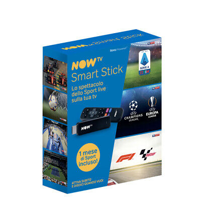 NOW TV Smart Stick con il primo mese di Sport NOW TV incluso