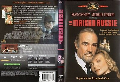 LA MAISON RUSSIE * Sean Connery, Michelle Pfeiffer - dvd occasion