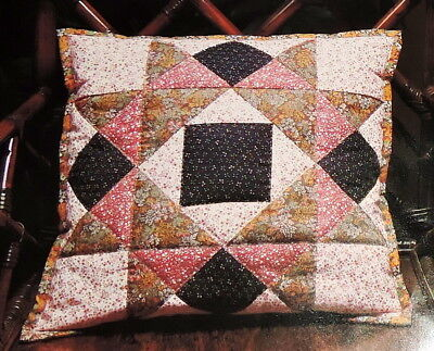 Collectors Quilted Patchwork Cushion Cover Kit With Fabric Easy Sew Made England