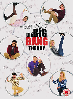 The Big Bang Theory Season 1-12 [2019] (DVD) Johnny Galecki, Jim Parsons