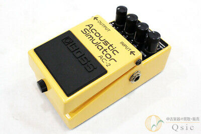 Used Boss AC-2  Acoustic Simulator Effects Pedal  Guitar AC2 #10 Free shipping