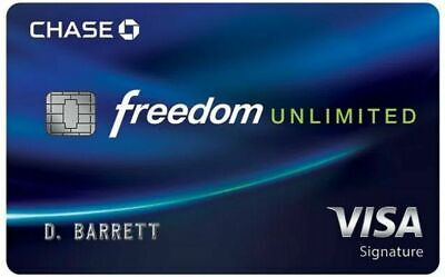 3% Cash back Bonus for Chase Freedom Unlimited Credit Card+ Earn up to $600