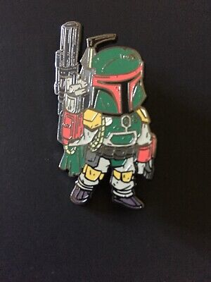 Disney Pin STAR WARS CELEBRATION ORLANDO 2017 Boba Fett Sold Out Free Ship (ZS