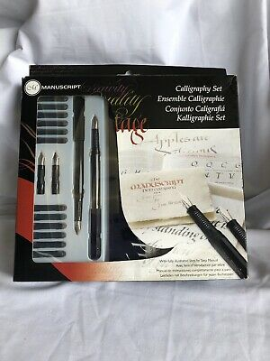 Manuscript MC146 Masterclass Calligraphy Set, New, Free Ship