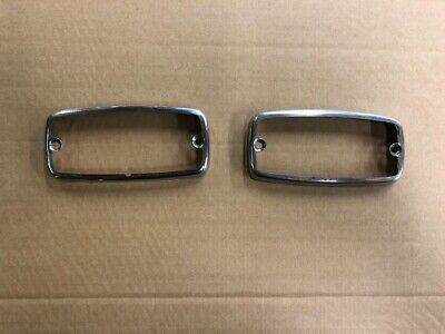 Ford Escort mk1 Reverse Light Surrounds..pair.