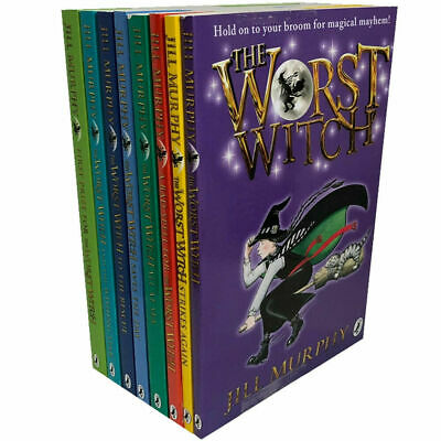 The Worst Witch 8 Books Collection Set By Jill Murphy
