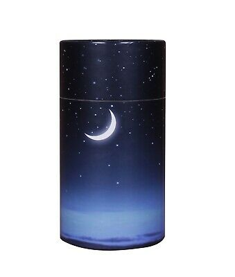 Extra Small Scattering Ashes urn Biodegradable Cremation Scatter Starry Night
