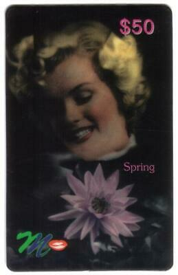 $200. Marilyn Monroe: 'Four Seasons' (Set of 4) Phone Card