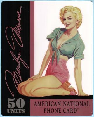 50m Marilyn Monroe SUPER JUMBO (Size 8'x10') Phone Card