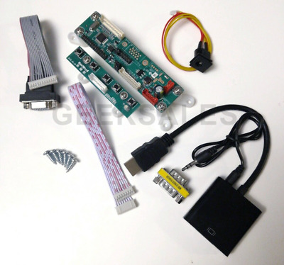 "Arcade1Up Countercade 8"" LCD Video Driver Converter Board, add HDMI VGA, Counter"