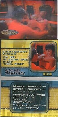Star Trek Women Of Star Trek In Motion Sound Card S6 Uhura And Sulu No Sound