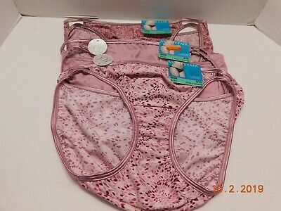 Vanity Fair 3 Pair illumination String Bikini Panty Underwear Sz 8/XL 18108 NWT