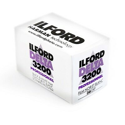 New 1 Roll of Ilford Delta 3200 36 Exp Professional Black & White Film Exp 03/18