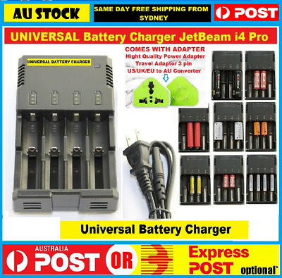 Nitecore i4 Intellicharge Universal Battery Charger for RCR123A 26650 18650 AAA