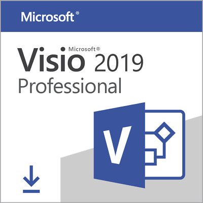 Microsoft VISIO Professional 2019 Pro 1 PC Activation Key + Link + Vollversion