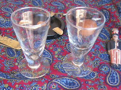 Verres  Absinthe  Souffle  Anciens ,  Collection   Bar