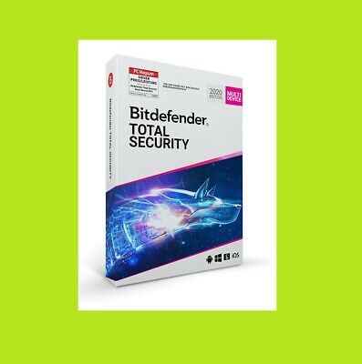 Bitdefender Total Security 2019 / 2020 | 5 Devices PC | 1 Year Jahr Downloadlink