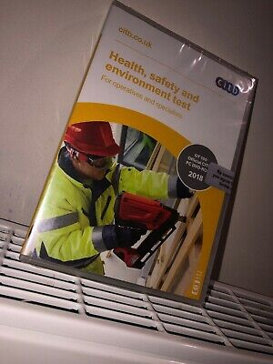 CSCS card Test revision DVD Health & Safety for Operatives & Specialists- 2018