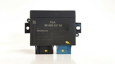 Peugeot 3008 Pdc Parking Distance Control Module 9666663780 ==