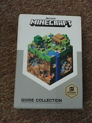 Minecraft Guide Collection 4 Books Collection Box Set (Like New)