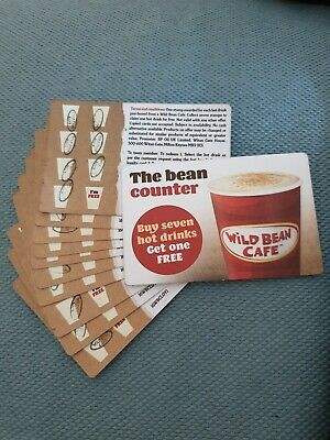 10 Wild bean Coffee Cards