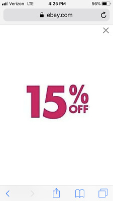 JUSTICE 15% Off Online Purchase * Works With Sale*