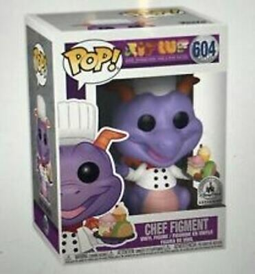Funko Pop Chef Figment Epcot 2019 Food & Wine Festival Disney Parks Exclusive