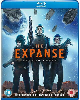 The Expanse: Season 3 [Official UK release] (Blu-ray) Cas Anvar, Wes Chatham