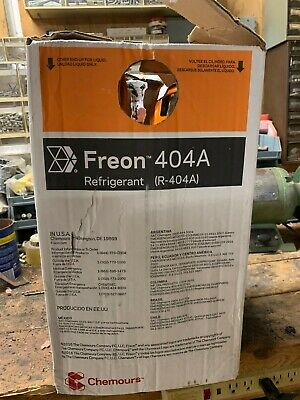 Chemours Forane R404A Refrigerant 24LB Cylinder Tank FACTORY SEALED R-404A