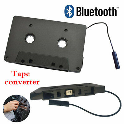 Bluetooth CAR AUDIO TAPE CASSETTE ADAPTER RECEIVER FOR IPOD IPHONE CD MP3 RADIO