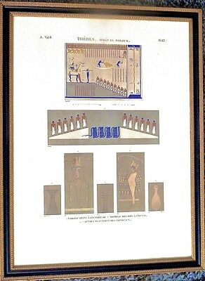 Certified Thebes Byban El Molouk Color Print From Musee Du Louvre Numbered 4711