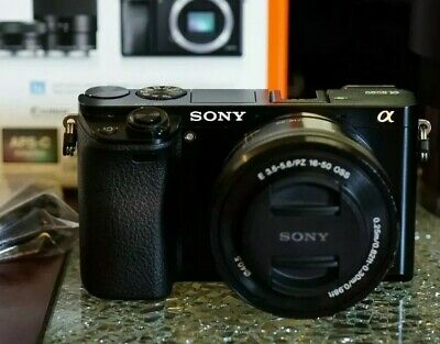 Sony Alpha A6000 24.3MP Digital Camera Kit with 16-50mm Lens & Case