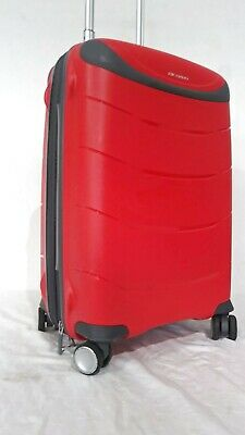 """$260 Ricardo Mendocino 20"""" Carry-On Spinner Luggage Suitcase Hard w/ USB Port"""