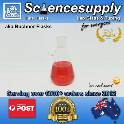 Filter Flasks Buchner Flasks chemistry borosilicate filtering filter glass