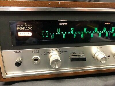Sansui Stereo Receiver Made in Japan Model 2000 Tuner Amplifier