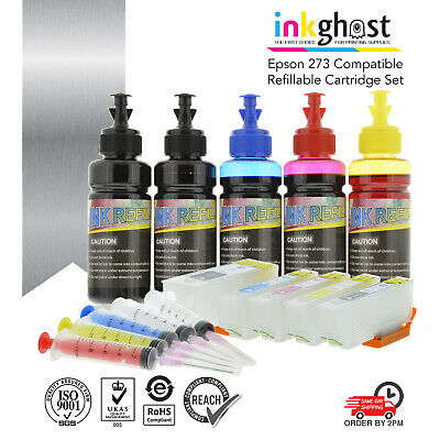 ink 👻 Refillable ink cartridges alternative for 273 Epson XP610 700 710 720 810