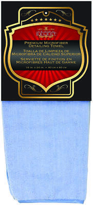 SM Arnold 25-859 Cleaning Towel, 24 in L, 16 in W, Microfiber, Blue