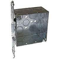 RACO 8235 Switch Box, Knockout Cable Entry, 14-Knockout, Bracket Mounting, Steel